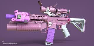 Hello Kitty Meme - hello kitty call of duty rifle killo kitty technabob