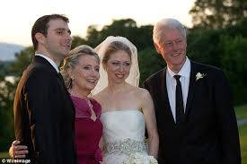 wedding dress chelsea chelsea clinton used foundation resources for wedding according