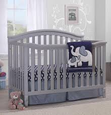 Grey Convertible Cribs Sorelle Berkley 4 In 1 Convertible Crib Grey Babies R Us