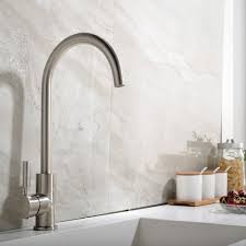 ufaucet contemporary high arch gooseneck stainless steel water