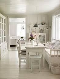 Einrichtungsideen Esszimmer Landhausstil Alles In Weiß Mit Industrieller Lampe Soo Schön U2026 Küchen
