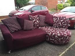 Purple Corner Sofas Dfs Poise Corner Sofa In Taunton Somerset Gumtree