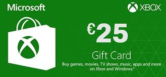 xbox live gift cards xbox live 25 gift card on xbox pc hrk