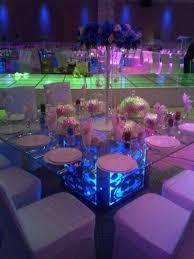 wholesale led under table lights kitosun wedding decor lighting 8inch 28pcs smd5050 led under table