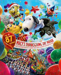 poster for 87th annual macy s thanksgiving day parade
