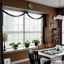 2 Inch White Faux Wood Blinds 2
