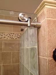 shower door spacer owleon u0027s sweethome glass blocks u0026 shower door master bathroom