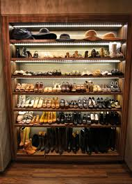 breathtaking shoe storage with wooden paneling frames also level