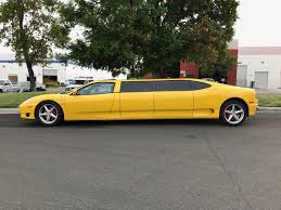 limousine ferrari you can bid on a ferrari 360 limo on ebay the drive