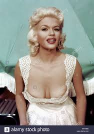 jane mansfield jayne mansfield actress 1960 stock photo royalty free image