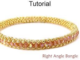 beading bracelet images Beading tutorial pattern bracelet tubular right angle weave raw 42879