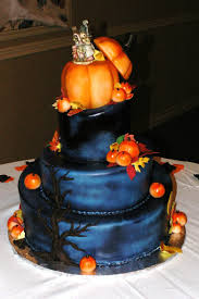 Halloween Wedding Cake by Picture Of Konica Minolta Digital Camera