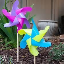 Pinwheel Decorations Diy Giant Outdoor Pinwheels A Houseful Of Handmade