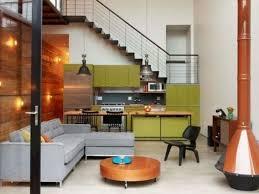 open concept no upper cabinet u shape kitchen contemporary kitchen