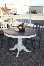 painted dining table how to paint a dining room table without