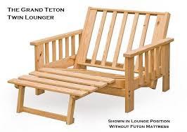 twin futon lounger bm furnititure