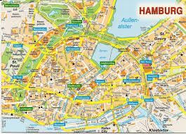 Essen Germany Map by Hamburg Map