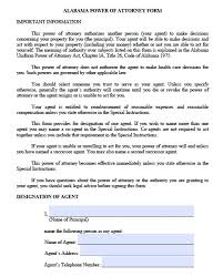 power of attorney form downloadable special power of attorney