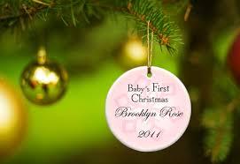 personalized babys ornament chritsmas decor
