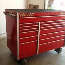 snap on tool storage cabinets best snap on tool box krl1001b great condition 14 drawers 45 x29