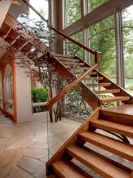 Hanging Stairs Design Cheery Straight Wooden Staircase For Also Latest Stairs Designs