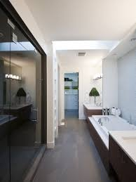 narrow bathroom designs bath ideas long narrow spaces slide show