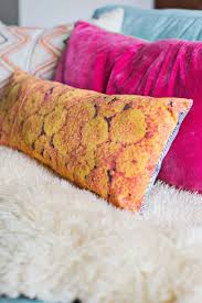 create vibrant floral photo pillows u2013 a beautiful mess