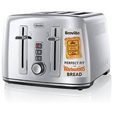 Cuisinart Toaster 4 Slice Stainless Cuisinart Cpt445u 4 Slice Brushed Stainless Steel Digital Toaster
