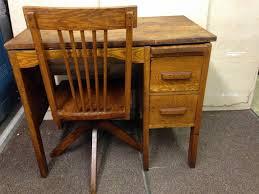 vintage wood desk vintage student desk chair u2014 all home ideas and decor
