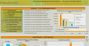 Excel Inventory Spreadsheet Download Handmade Bookkeeping Spreadsheet Just For Handmade Artists