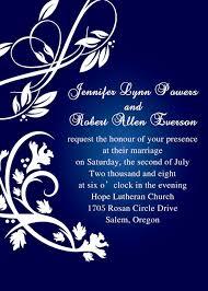 royal blue wedding invitations royal blue pocket wedding invitations with rsvp cards ewpi055 as