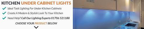 Kitchen Cabinets Lighting Kitchen Under Cabinet Shelf Lights Downlights Direct
