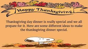 Dinner Special Ideas Thanksgiving Dinner Ideas 2016