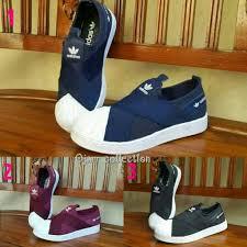 Sepatu Adidas Slip On sepatu adidas superstar slip on elevenia