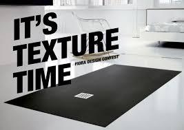 flora piatti doccia it s texture time fiora design contest arredativo design magazine