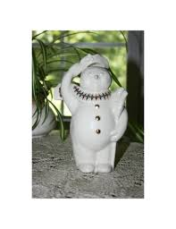 vintage lenox china jewels of christmas jolly snowman snow people