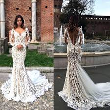mermaid style wedding dress mermaid style wedding dress with lace sleeves straps sleeve