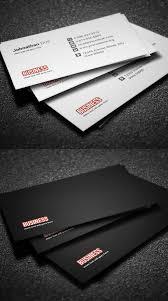 30 minimalistic business card designs psd templates design