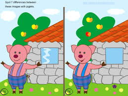 Game Spot The Difference Between Two Pictures Games English