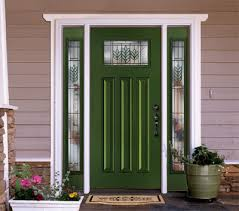 Green Exterior Door New Products Now Available