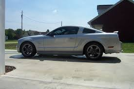 Satin Black Mustang Satin Silver W Black Chrome Bullitts The Mustang Source Ford
