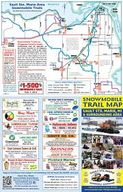 Upper Peninsula Michigan Map by Snowmobiling In The Upper Peninsula Up Travel