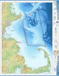 Boston Harbor Map by