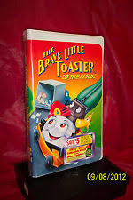 The Brave Little Toaster Goes To Mars Vhs Brave Little Toaster To The Rescue Vhs