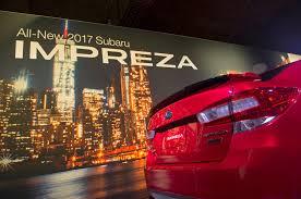2016 subaru impreza hatchback red 2017 subaru impreza first look review motor trend