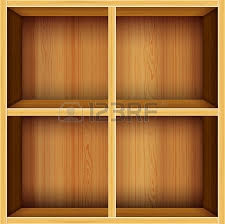 vector wooden shelves background royalty free cliparts vectors