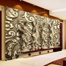 Wall Paintings For Living Room Online Get Cheap Wall Painting Wallpaper Aliexpress Com Alibaba