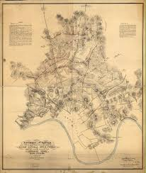 Tennessee Tech Map by Maps Battle Of Nashville Preservation Society Inc