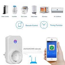 wifi smart plug works with amazon alexa control devices eu plug