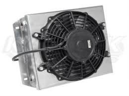 oil cooler with fan cbr small off road single pass oil cooler with 9 fan and an 10 orb